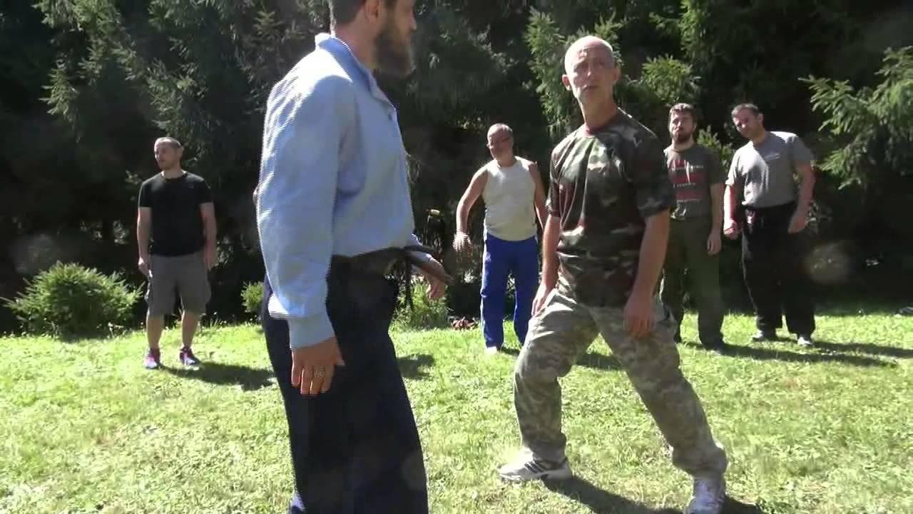 казачий спас работа ногами