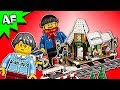 Lego Creator Winter VILLAGE STATION 10259 Speed Build