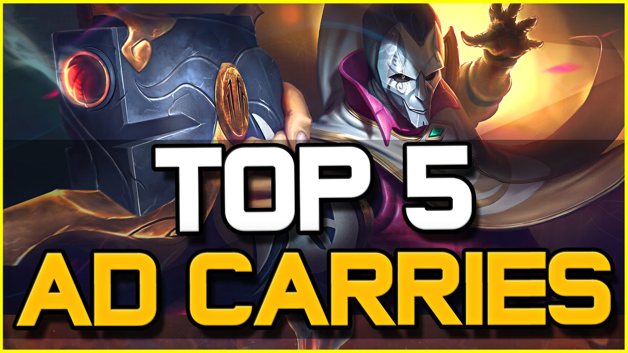 TOP 5 BEST AD CARRIES - Patch 6.10 | League of Legends