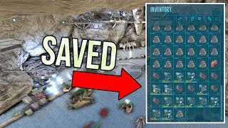 SAVED OUR TAMES!!! ARK Official Small Tribes PvP Ep 18