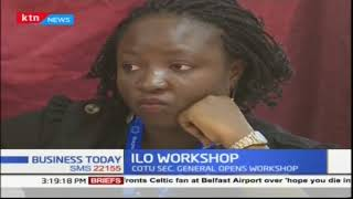 International Labour Organization commences training at Tom Mboya Labour Collage in Kisumu
