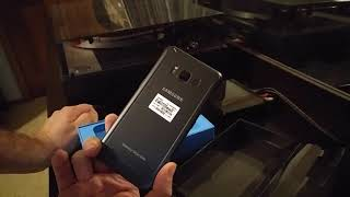 Galaxy S8 ACTIVE 2017 pre-order unboxing