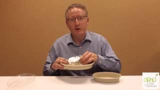 Compostable Fiber Burrito Bowl Vs. Chipotle Burrito Bowl - Demo By Good Start Packaging
