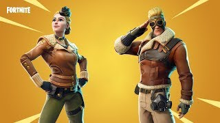 FORTNITE SEASON 7 - NEW INGAMES LEAKED SKINS WITH UNRELEASED EMOTES!