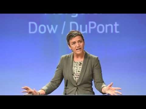 EU antitrust regulators clear $130 billion Dow, DuPont merger