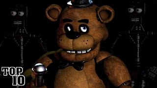 Top 10 Facts About 5 Nights At Freddy