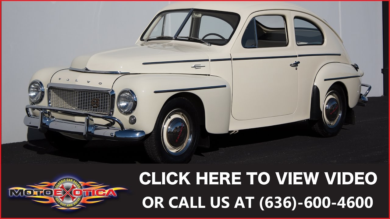 1958 volvo pv444 sold youtube rh youtube com Volvo PV544 Customs Volvo PV544 Hot Rods