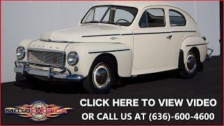 1958 Volvo PV444 || SOLD