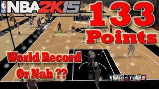 I SCORED 133 Points in REC -- World Record or nah lol?? - NBA 2K15