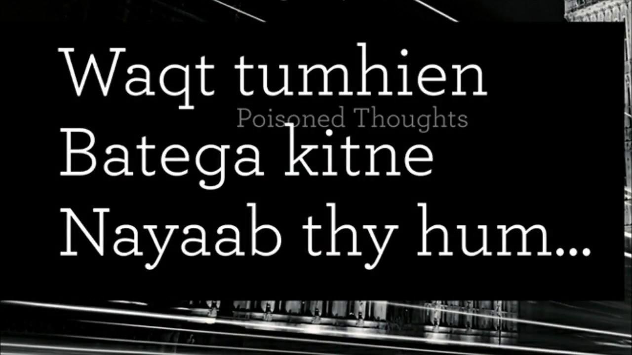 True lines Best shayari waqt in hindi & urdu - YouTube