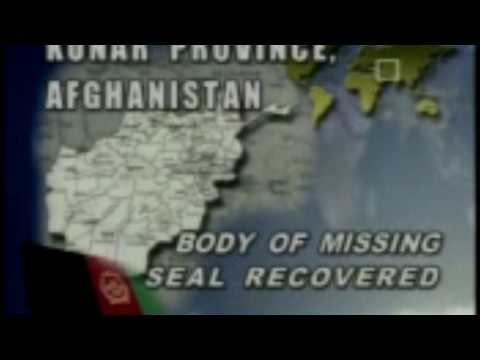 Initial News Report on Matt Axelson Seal team 10 .  Operation Red Wings
