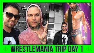 ★Wrestlemania 34 Trip★ Day 1: Arriving In New Orleans + Meeting Jeff Hardy