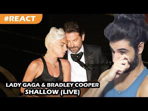 Lady Gaga Bradley Cooper - Shallow Oscars 2019 REACT  Reação e comentários