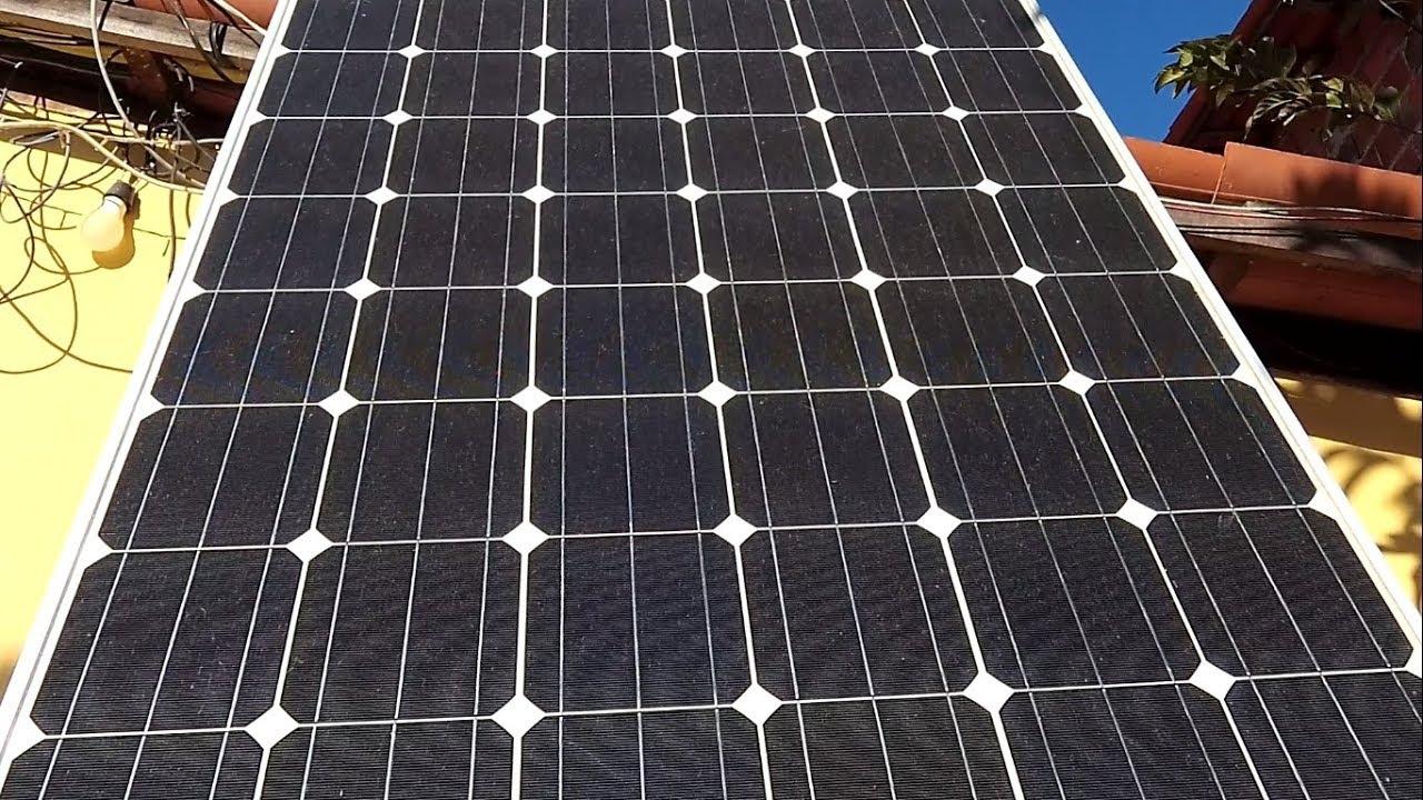 562bfbc0bef PAINEL SOLAR 250 WATTS USANDO GELADEIRA EM ENERGIA SOLAR SOL DA TARDE GERA  COM EFICIENCIA !