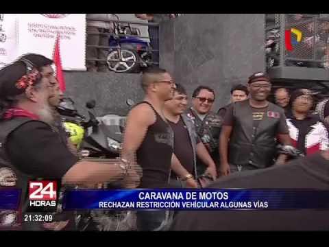 Motociclistas protestan contra la Municipalidad de Lima