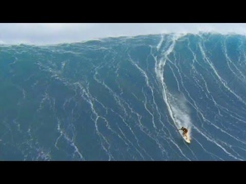 64 Foot Wave - Mike Parsons At Jaws Beach, Hawaii