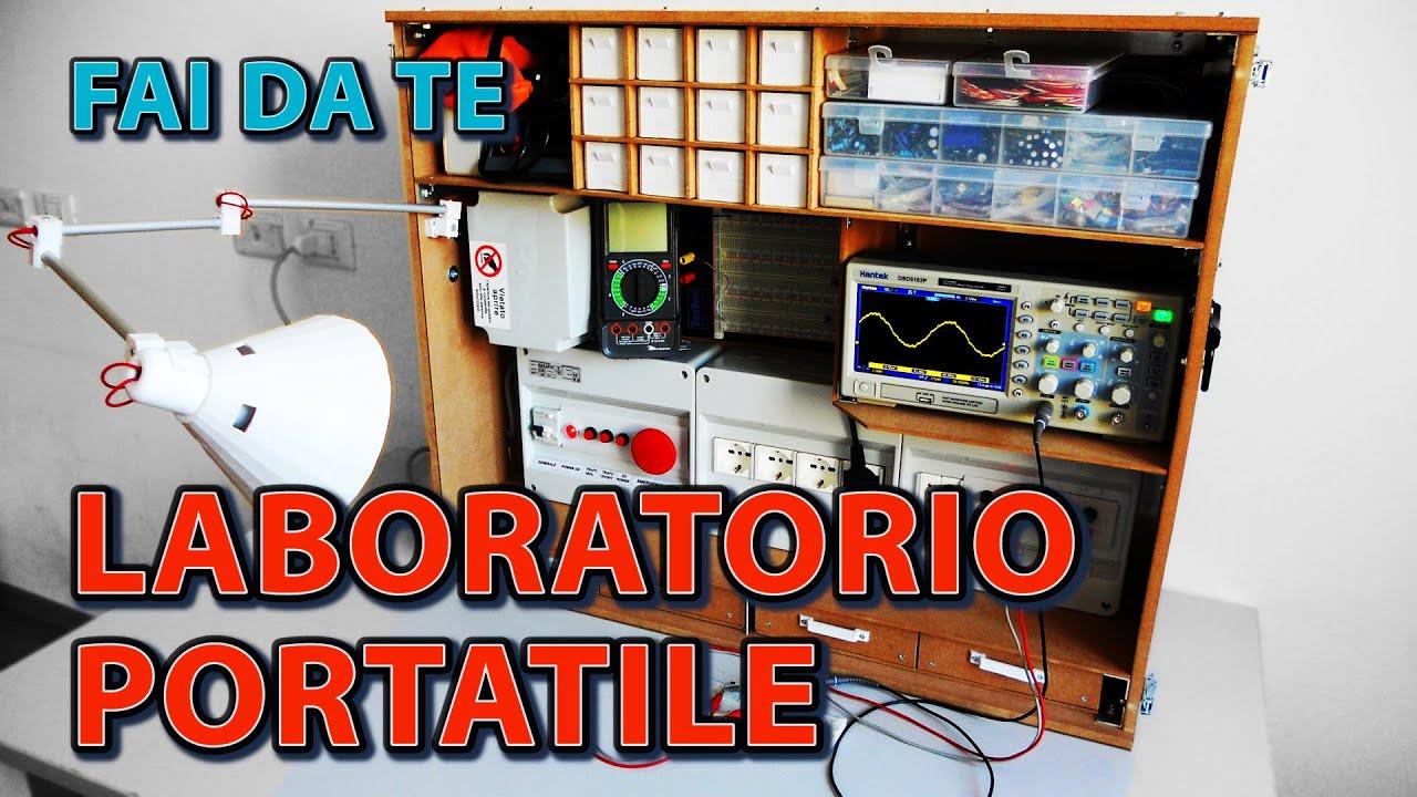 Come costruire un laboratorio di elettronica portatile for Come costruire un cottage a casa