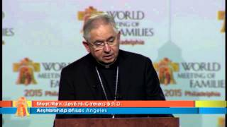 WORLD MEETING OF FAMILIES IN AMERICA - 09/25/2015