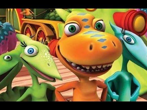 Машинки и Динозавры - мультик игра для детей и малышей от Yateland #машинки #динозавры #мультики