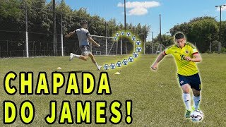 Como fazer a CHAPADA do JAMES RODRÍGUEZ - APRENDA a chutar igual ao JAMES!