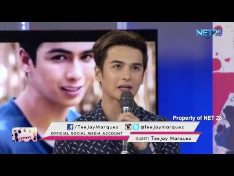 TEEJAY MARQUEZ NET25 LETTERS AND MUSIC Guesting - EAGLE ROCK AND RHYTHM