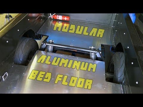 C-10  Lifting Aluminum Bed Floor Installed!