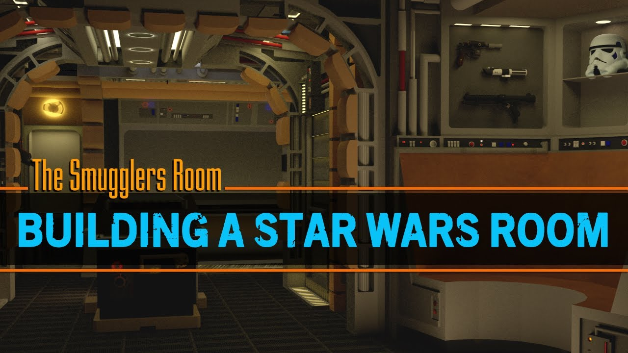 How To Build A Star Wars Room Episode 1 Youtube