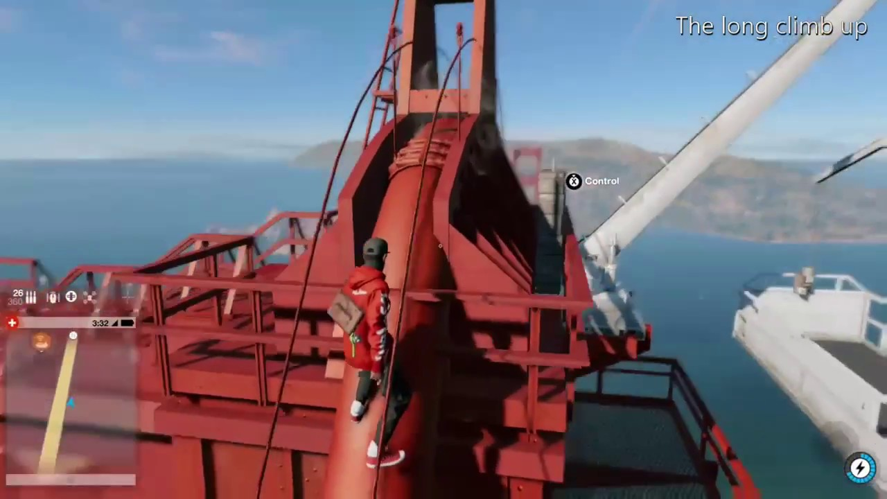 Climbing The Golden Gate Bridge Watchdogs 2 Youtube