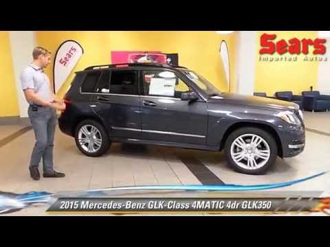 The new 2015 mercedes benz glk class 4matic glk350 for Mercedes benz bloomington mn