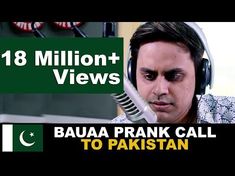 Bauaa Prank Call To Pakistan | Cricket World Cup Special | Baua | CWC19 | India Vs Pakistan