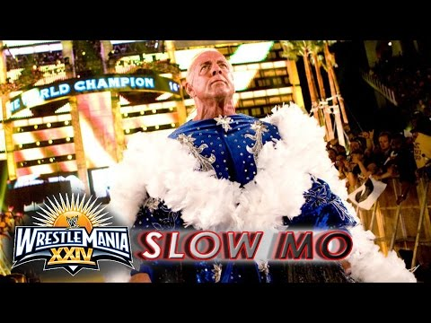 11 Years Ago Today, Ric Flair Had His WWE Swansong With Shawn Michaels At WrestleMania 24