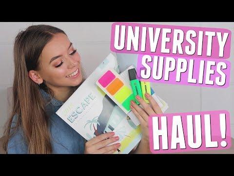 UNIVERSITY STATIONERY & SUPPLIES HAUL | UNI ESSENTIALS!