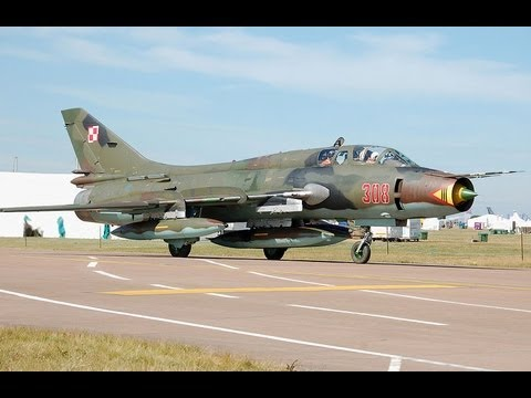 Su-22 - Amazing Polish Airforce - Su-17