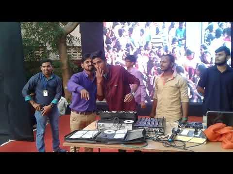DYF 2018 DJ dance Devgad college By DJ Akash Hupari