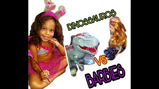 Baixar BARBIES VS DINOSSAUROS