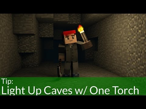 The Best Way To Light Up Caves In Minecraft