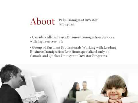 Antevorta Capital Partners   Canada Immigrant Investor Program   Business immigration to Canada