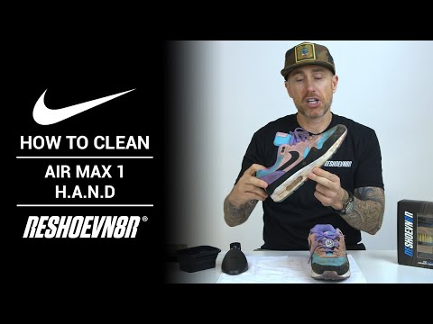 How to Clean Air Max 1 Have A Nike Days with RESHOEVN8R