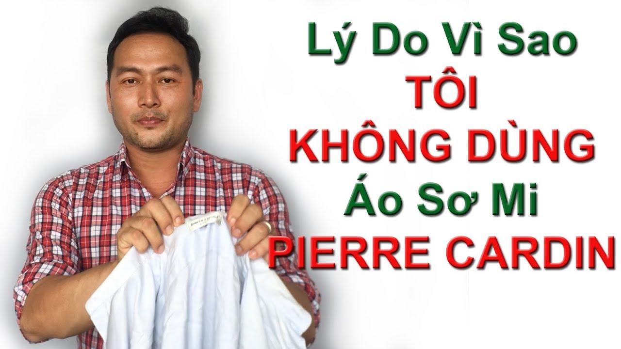 Vì sao tôi không mặc sơ mi Pierre Cardin – PhongCachNam.com