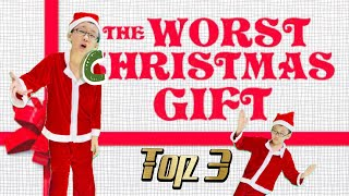 Top 3 Worst Christmas Gifts Ever | Merry Christmas