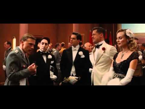 Inglourious Basterds - Italian scene - YouTube
