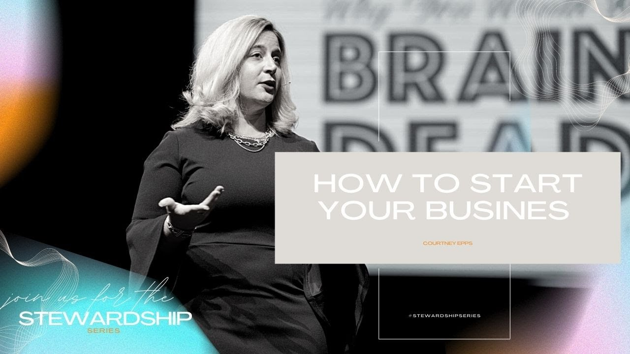 Download Courtney Epps   How To Start Your Business   Sunday Service