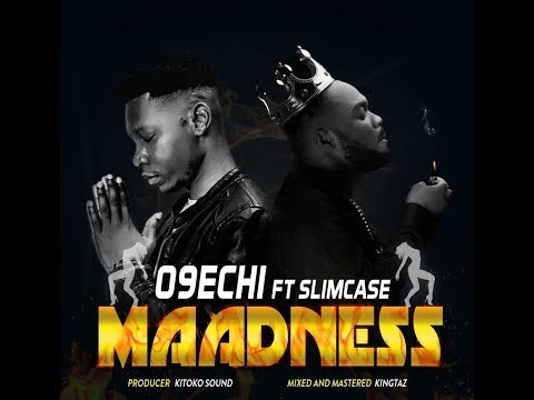O9echi ft Slimcase - MAADNESS (Official Lyric Video) Prod by Kitoko Sound