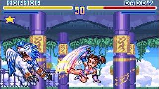 SNES Longplay SD Hiryuu no Ken Minmin & Desperation Moves / スーパーファミコン SD飛龍の拳 ミンミン & 秘奥義集