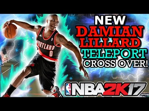 NBA 2K17 NEW DAMIAN LILLARD TELEPORT CROSS OVER!! (AFTER PATCH 12! GAME PLAY PROOF!)