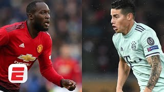 Romelu Lukaku headed to Inter Milan? James Rodriguez off to Napoli?   ESPN FC