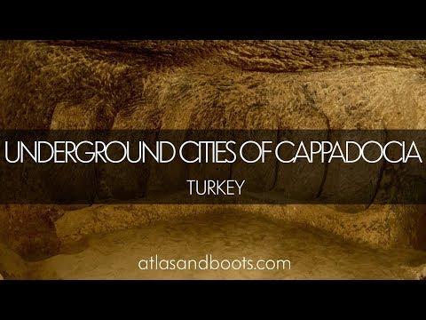 Kaymaklı and Derinkuyu underground cities