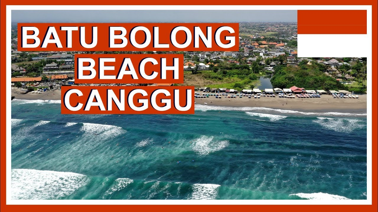 Batu Bolong Beach Bali Canggu Beaches In 4k Cinematic Bali Videos