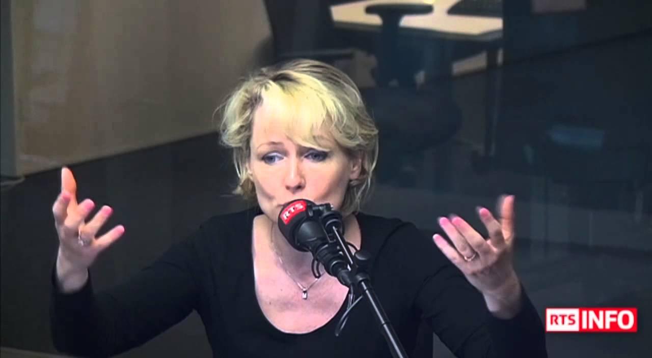 L Invité De La Rédaction Isabelle Moret Vice Présidente