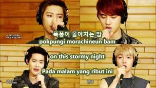 EXO - Baby  Don't Cry with MALAY | ENG | HAN | ROM subs lyrics